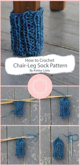 Chair-Leg Sock Crochet Pattern By Ashley Little