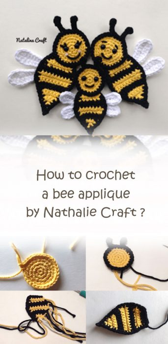Crochet Bee By Nathalie Craft