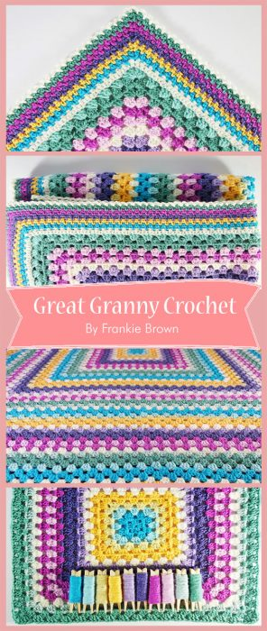 Great Granny Crochet By Frankie Brown