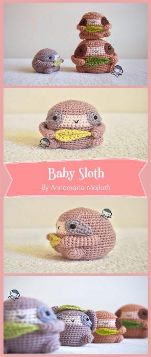 Baby Sloth By Annamaria Majlath
