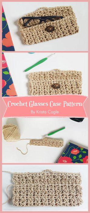 Crochet Glasses Case Pattern By Krista Cagle
