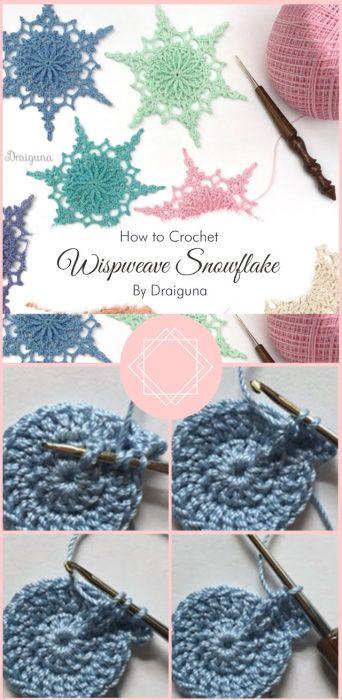 Wispweave Snowflake By Draiguna