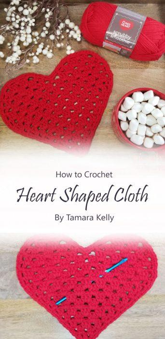 Heart Shaped Cloth By Tamara Kelly