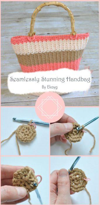 Seamlessly Stunning Handbag By Ekayg