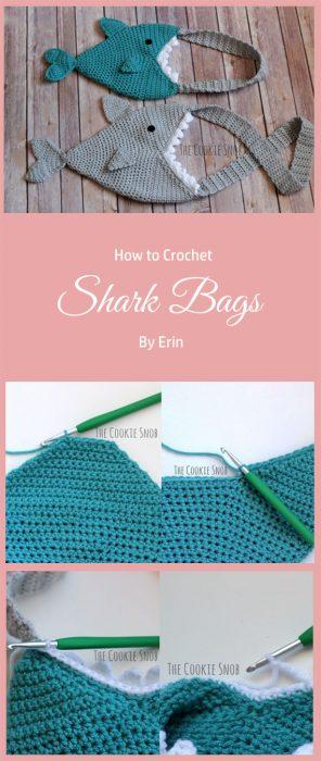 Shark Bags Crochet By Erin
