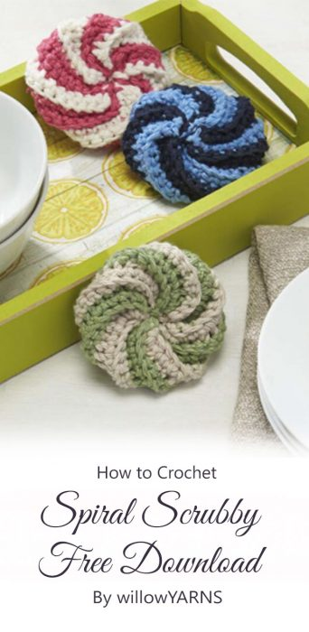 Spiral Scrubby Free Download By willowYARNS