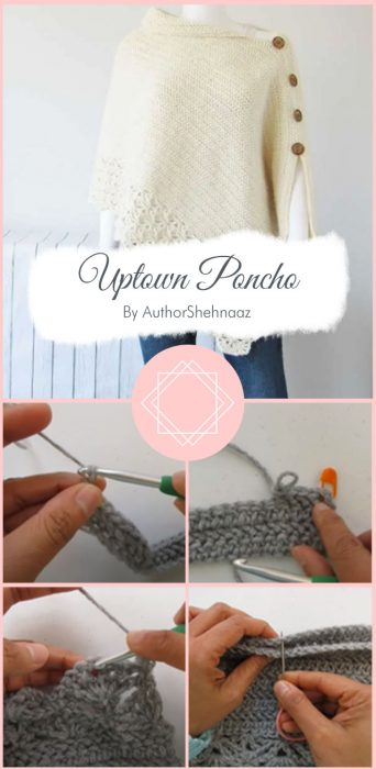 Uptown Poncho By AuthorShehnaaz