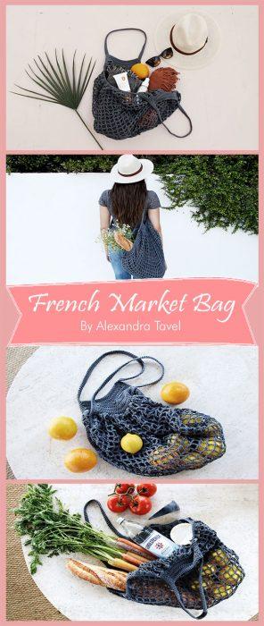 French Market Bag By Alexandra Tavel