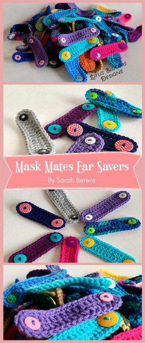 Mask Mates Ear Savers By Sarah Berens