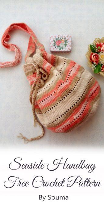 Seaside Handbag Free Crochet Pattern By Souma