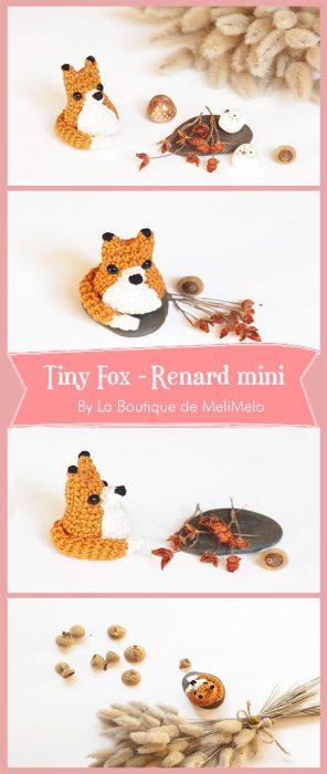 Tiny Fox - Renard mini By La Boutique de MeliMelo