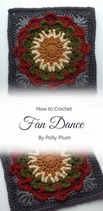 Fan Dance By Polly Plum