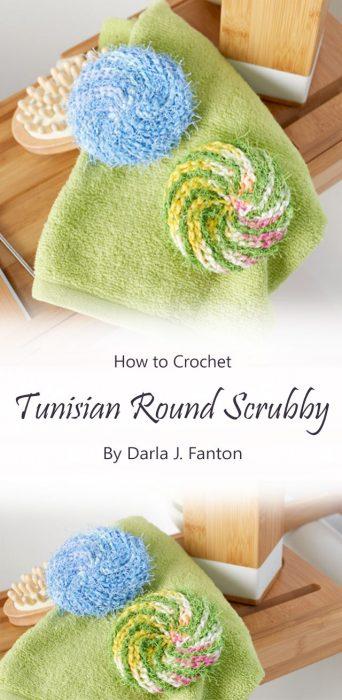 Tunisian Round Scrubby By Darla J. Fanton