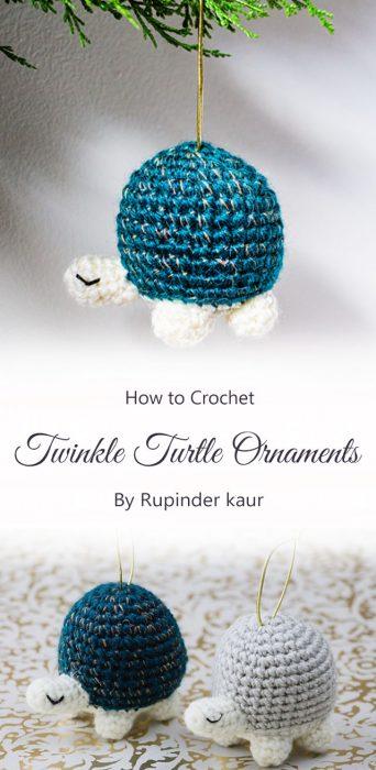 Twinkle Turtle Ornaments By Rupinder kaur