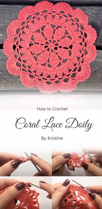 Coral Lace Doily Free Crochet Pattern By Kristine