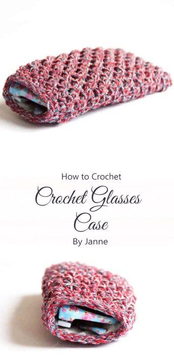 Crochet Glasses Case By Janne