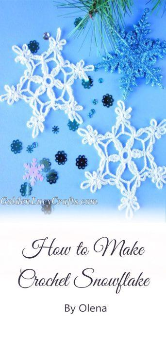 Crochet Snowflake By Olena