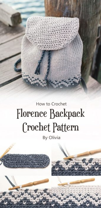 Florence Backpack Crochet Pattern By Olivia