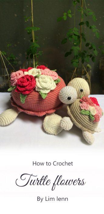 Turtle flowers By Lim lenn