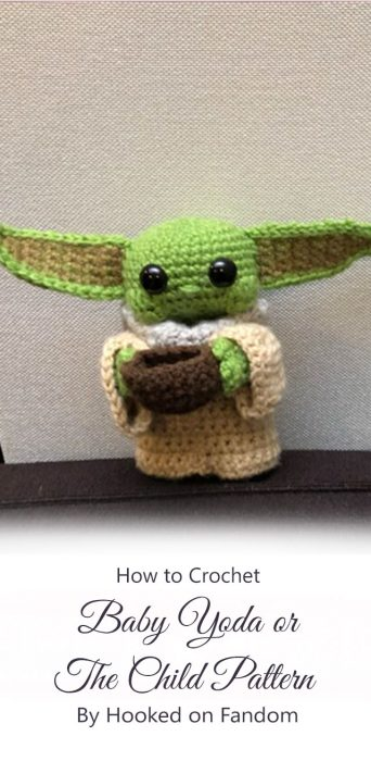 Baby Yoda/The Child Pattern By Hooked on Fandom