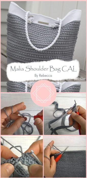 Malia Shoulder Bag CAL By Rebecca