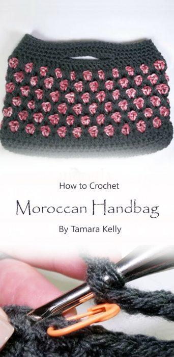 Moroccan Handbag Free Crochet Pattern By Tamara Kelly