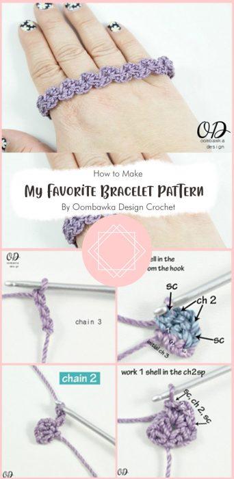 My Favorite Bracelet Pattern By Oombawka Design Crochet
