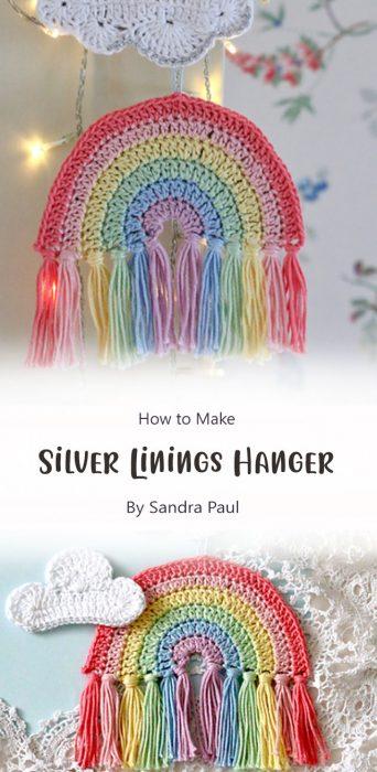 Silver Linings Hanger By Sandra Paul