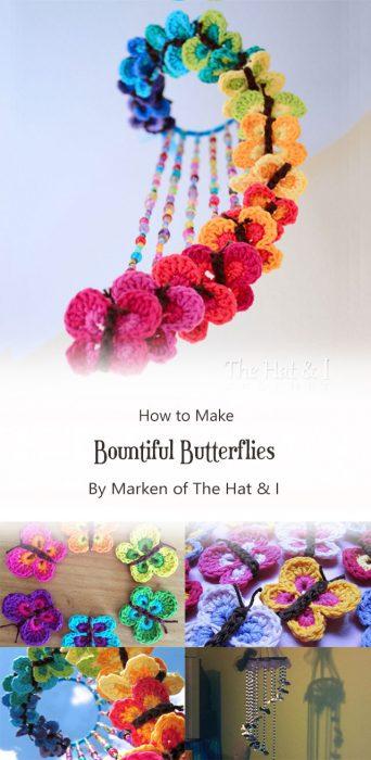 Bountiful Butterflies By Marken of The Hat & I