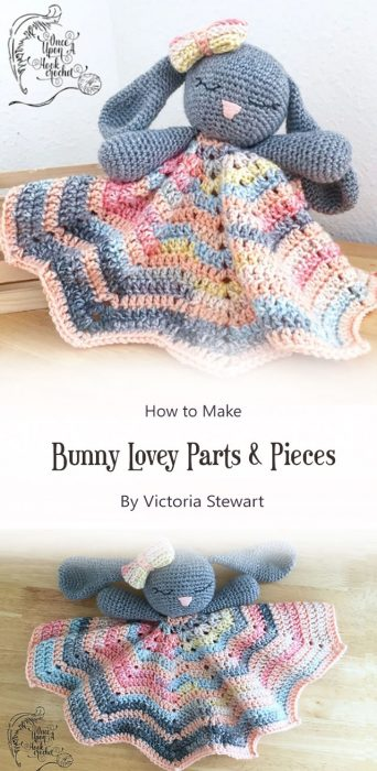 Bunny Lovey Parts & Pieces By Victoria Stewart