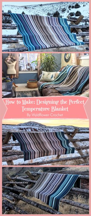 Designing the Perfect Temperature Blanket By Wyldflower Crochet
