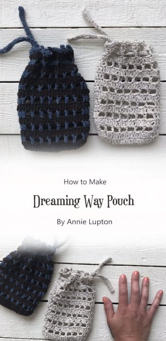 Dreaming Way Pouch By Annie Lupton