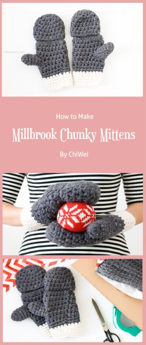 Millbrook Chunky Mittens By ChiWei