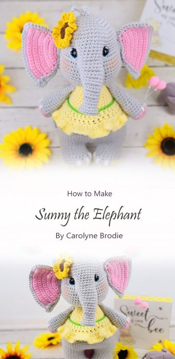 Sunny the Elephant By Carolyne Brodie