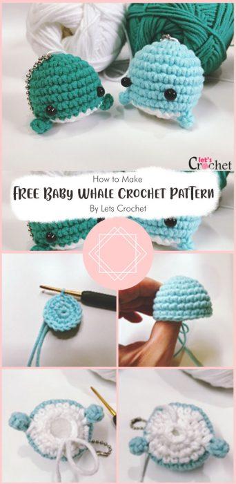FREE Baby Whale Crochet Pattern By Lets Crochet