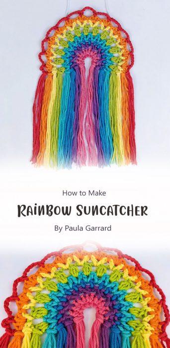 Rainbow Suncatcher By Paula Garrard