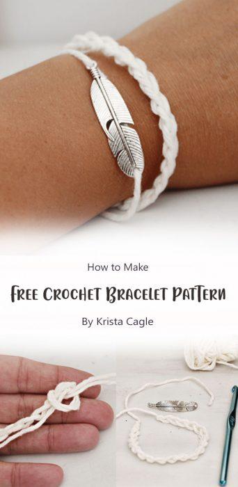 Free Crochet Bracelet Pattern By Krista Cagle