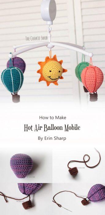 Hot Air Balloon Mobile By Erin Sharp