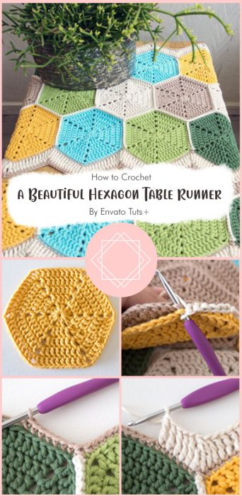 Crochet a Beautiful Hexagon Table Runner By Envato Tuts+