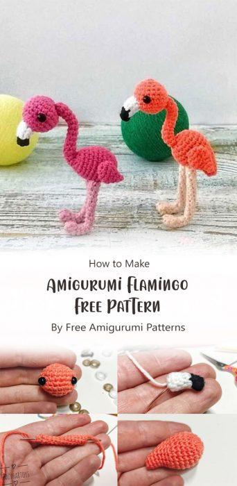 Amigurumi Flamingo Free Pattern By Free Amigurumi Patterns