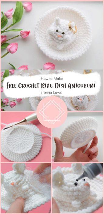 Free Crochet Ring Dish Amigurumi By Brenna Eaves