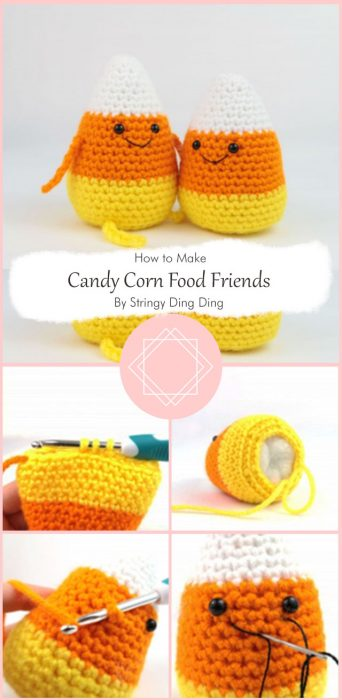 Candy Corn Food Friends By Stringy Ding Ding