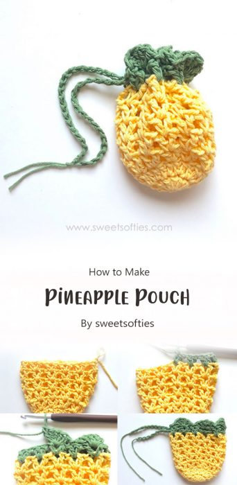 Pineapple Pouch By sweetsofties