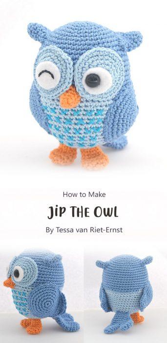 Jip the Owl By Tessa van Riet-Ernst